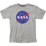 NASA Logo Fitted Classic Jersey Adult T-Shirt