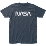 NASA Retro Logo Fitted Classic Jersey Adult T-Shirt