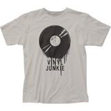 Impact Originals Vinyl Junkie Fitted Classic Jersey T-Shirt