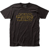 Star Wars Logo Fitted Classic Jersey T-Shirt