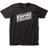 Star Wars Empire Strikes Back Logo Fitted Classic Jersey T-Shirt