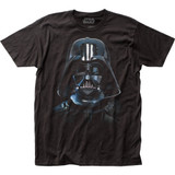 Star Wars Vader Mask Fitted Classic Jersey T-Shirt
