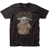 Star Wars The Mandalorian The Child Fitted Classic Jersey T-Shirt