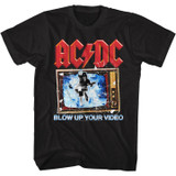 AC/DC Blow Up Your Video Black Adult T-Shirt