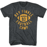 Ace Ventura Finklefootball Black Heather Adult T-Shirt