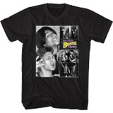 Bill And Ted BNT Collage Black Adult T-Shirt