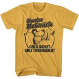 Happy Gilmore Gold Jacket Tourney Ginger Adult T-Shirt