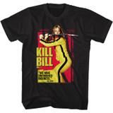Kill Bill Unfinished Business Black Adult T-Shirt