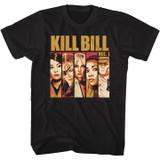 Kill Bill KLBL Black Adult T-Shirt