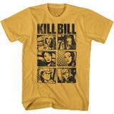 Kill Bill Panels Ginger Adult T-Shirt