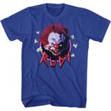 Killer Klowns Rudy Royal Adult T-Shirt