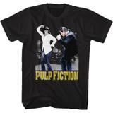 Pulp Fiction Dance Black Adult T-Shirt