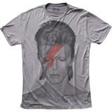 David Bowie Aladdin Sane Big Print Subway Adult Classic T-Shirt - Clearance
