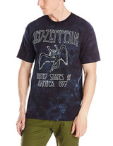 Led Zeppelin USA Tour 77 Tie Dye Classic T-Shirt