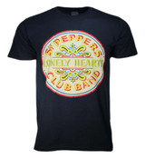 The Beatles Classic Lonely Hearts Seal T-Shirt