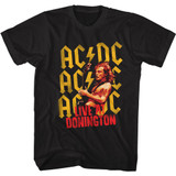 AC/DC Donington Black Adult T-Shirt