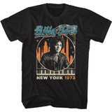 Billy Joel Billy In The City Black Adult T-Shirt