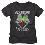 Journey 1979 Dark Gray Heather Women's Bella T-Shirt
