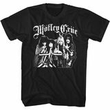 Motley Crue Crue Crew Black Adult T-Shirt