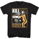 Kill Bill The 4th Film Black Adult T-Shirt