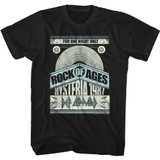 Def Leppard For One Night Only Black Adult T-Shirt
