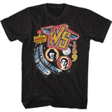 Bill and Ted World Tour Classic Black Adult T-Shirt