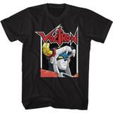 Voltron Voltron In a Box Black Adult T-Shirt