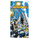 Atari Blast Cotton Front Poly Back Beach Towel White 30x60