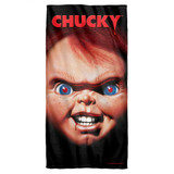 Child's Play 3 Poster Cotton Front Poly Back Beach Towel White 30x60
