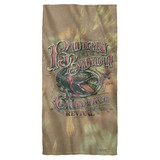Creedence Clearwater Revival Bayou Cotton Front Poly Back Beach Towel-30x60