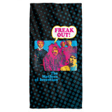 Frank Zappa Freak Out Cotton Front Poly Back Beach Towel-30x60