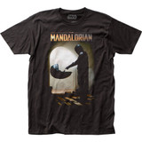 Star Wars The Mandalorian Mando Meets The Child Classic Fitted Jersey T-Shirt