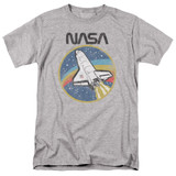 NASA Shuttle Adult 18/1 T-Shirt Athletic Heather Clearance