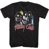 Motley Crue Band Logo Black Adult Classic T-Shirt