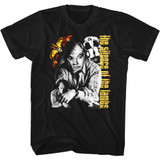 Silence of the Lambs Buffalo Bill Collage Black Adult T-Shirt