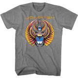 Journey Tri-Scarab Graphite Heather Adult T-Shirt