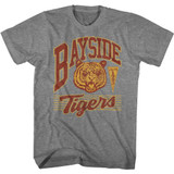 Saved By The Bell Bayside Tigers Graphite Heather Adult Classic T-Shirt