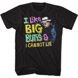 Sir Mix-a-Lot Cannot Lie Black Adult T-Shirt