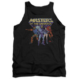 Masters Of The Universe Team Of Villains Adult Tank Top T-Shirt Black Clearance