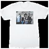 Community Cast Blue Pop White T-Shirt
