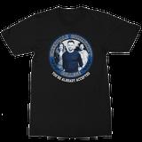 Community Character Seal Black T-Shirt