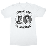 Community Troy Abed Morn White T-Shirt