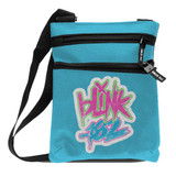 Blink-182 Logo Blue Body Bag