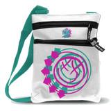 Blink-182 Smiley White Body Bag