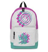 Blink-182 Smiley White Classic Backpack