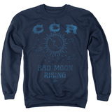 Creedence Clearwater Revival Rising Crewneck Sweatshirt Navy