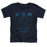 Creedence Clearwater Revival Rising Toddler T-Shirt Navy