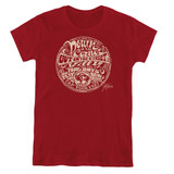 Creedence Clearwater Revival Down On The Corner Women's T-Shirt Cardinal