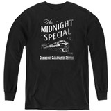 Creedence Clearwater Revival The Midnight Special Youth Long Sleeve T-Shirt Black