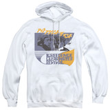 Creedence Clearwater Revival Around The Bend Kanji Pullover Hoodie Sweatshirt White